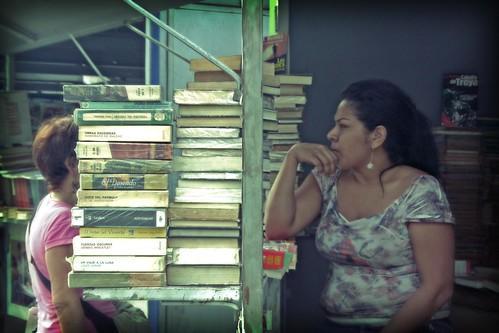 Mujeres y libros...