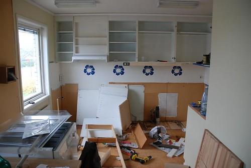 Köket börjar falla sönder