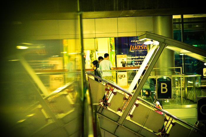 Bangkok - fasten your seatbelts / Siam Sq