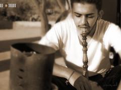 Smoke (Al' Shaysaban) Tags: al joy smoking       shaysaban