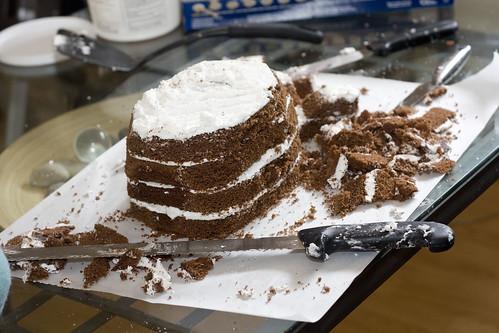 Whale Cake - Step 2