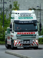 Bus Recovery unit (kenjonbro) Tags: truck 2008 cf recovery sovereign daf heavyrecovery