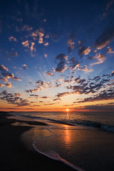Insomnia has its perks. (StephsShoes) Tags: ocean morning sky sun beach water clouds sunrise reflections myrtlebeach coast southcarolina shore sigma1020 flickrsbest landscapesdreams artinoneshot imagesforthelittleprince daarklands
