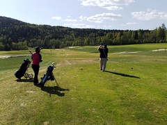 Golf in Norway at Spring #2