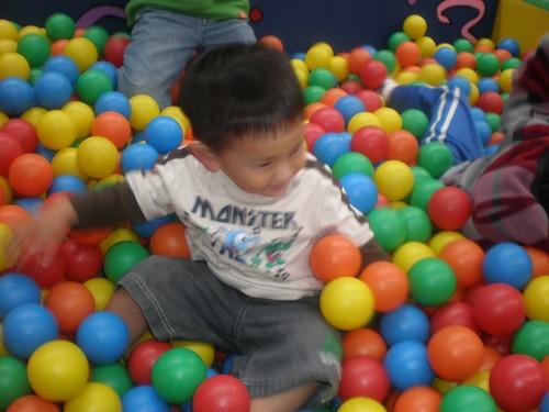 Pool of balls