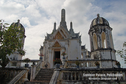 summer palace petchaburi wallpaper