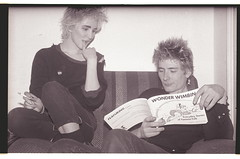 Claire Kelvin (r3cycl3r) Tags: blondes squat beatrice rd peroxide c1988