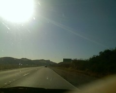 Between Moorpark and Simi Valley, Eastbound