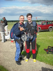 Me and my tandem partner, Chris