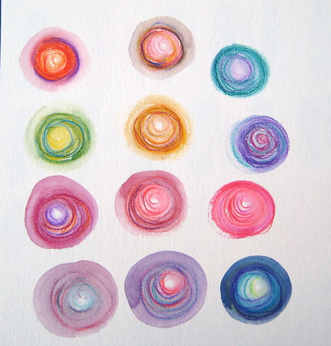 Albrecht Durer Watercolor Pencils - Kandinsky Inspired
