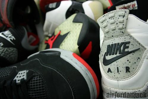 Nike Air Shoe Pile