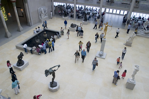 The New American Wing: The Charles Engelhard Court