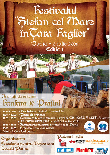 3 Iulie 2009 » Festivalul Ştefan cel Mare în Ţara Fagilor