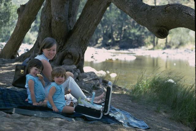 portrait kids check picnic kate trish scan historic date slides 1980 box4 oldalbum marymum