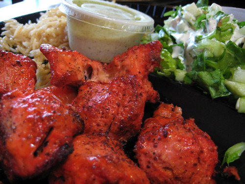 Chicken Kabob at Maiwand Kabob