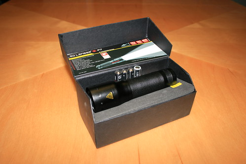 LED Lenser P7 Flashlight