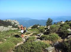 Apaseu - Funtanella :  vers le col 1240 m