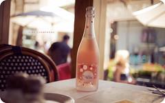 Pink Champagne (isayx3) Tags: pink 35mm lunch pepper cafe nikon dof bokeh champagne salt explore brunch f2 resturant nikkor tones frontpage d3 venushum plainjoe isayx3