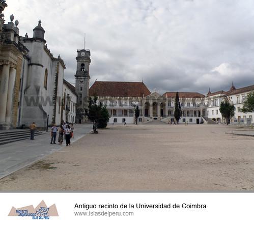Antiguo recinto de la Universidad de Coimbra