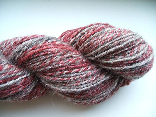 Handspun Cherry and Espresso