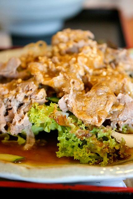 Shabu Shabu Beef Salad