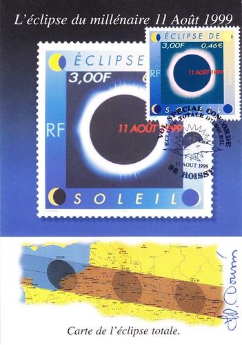 11 AOÛT 1999 / ECLIPSE TOTALE DU SOLEIL / VOL SPECIAL CONCORDE