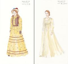 Marguerite, look 1 & 2