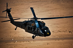 A day with Black Hawk crews (The U.S. Army) Tags: training soldier aircraft military blackhawk usarmy airassault camptaji multinationaldivisionbaghdad