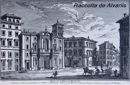 1756 2007 Santa Maria in Monticelli, Incisione di Giuseppe Vasi