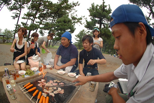 BBQ in 片山津
