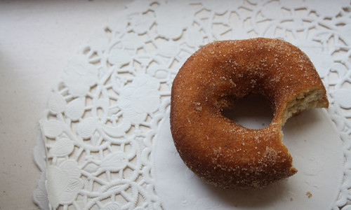 doughnuts and doilies