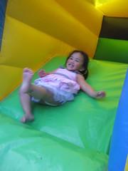 Hannah having fun