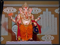Lord of Obstacles (Mayur Kotlikar) Tags: city india lake photography ganesha festivals hobby special maharashtra hindu incredible bappa ganpati nagpur marathi mayur hindurituals vighneshvara ganeshidol lordofobstacles ambazari gorewada panasonicfz28 vighnesha kotlikar telankhedi lordofwisdom vignaharta moryaganpatibappa 440010