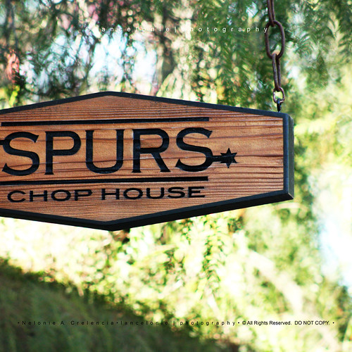 Spurs Chop House at Camp Spooky in Knotts Berry Farm by lancelonie.com, on Flickr