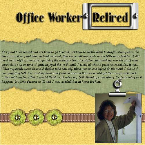 Office Worker Retired