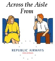 Across the Aisle from Republic Airways