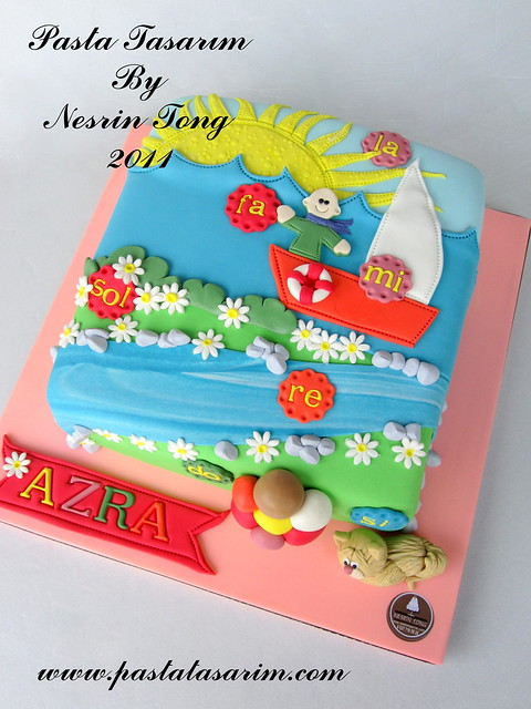 DO-RE-Mİ CAKE -AZRA BIRTHDAY