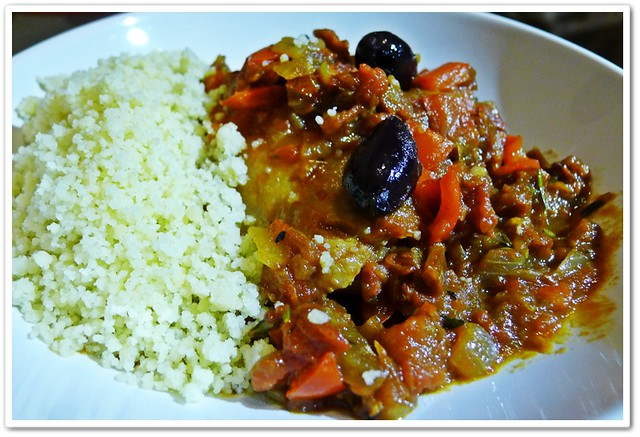 Mediterranean Chicken with Olives and Cous Cous