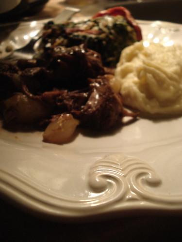 Full Dinner Plate : February Dinner Club