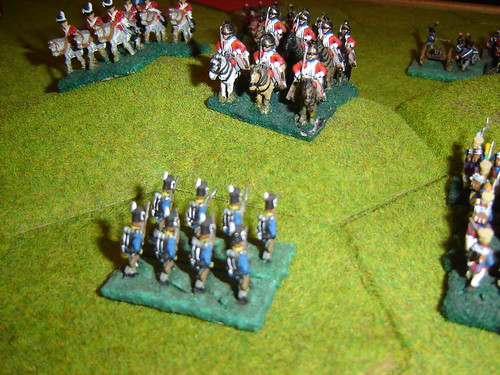 But charge by English cavalry reserve exacts heavy toll