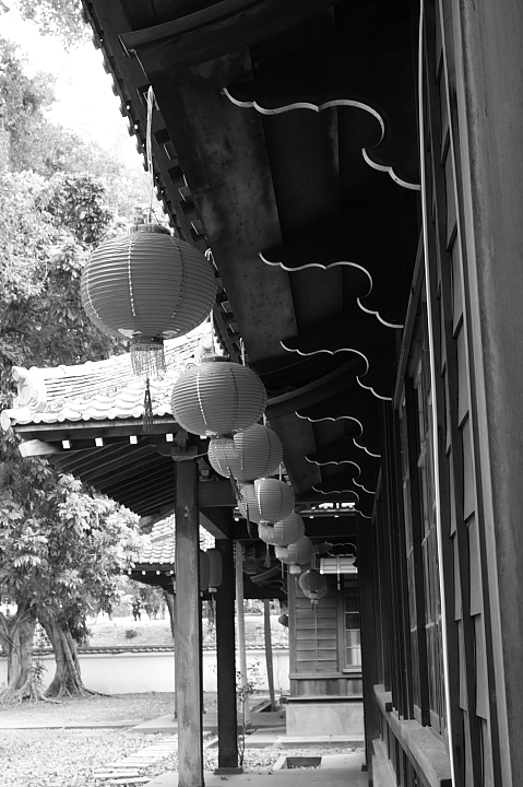 嘉義市史蹟資料館(黑白)22