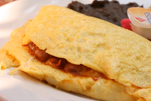 Bean and Cheese Omelet 2