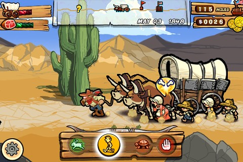Oregon Trail for iPhone