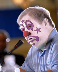 Haley Barbour (Gov. R-MS):: Obstructionist Republican Clown by Hebiclens / WMxdesign