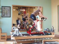 Fit Bike (eldan) Tags: travel usa oregon portland sweetpeabicycles natalieramsland michaelsylvester fitbike bicyclefitter