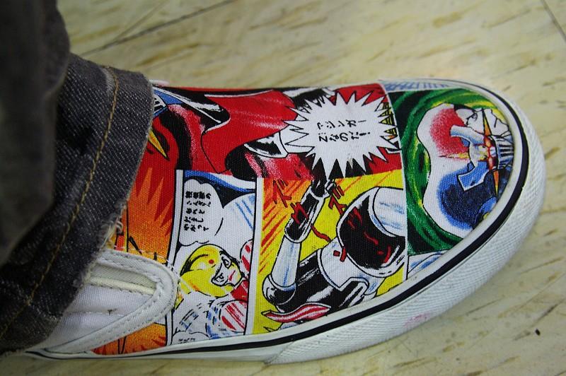 鞋子鐵金鋼