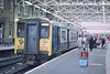 Class 317 EMU 317362 at Kings Cross (Treflyn) Tags: blue electric train grey br cross suburban rail railway class kings 80s multiple emu british 1989 1980s unit livery 317 317362
