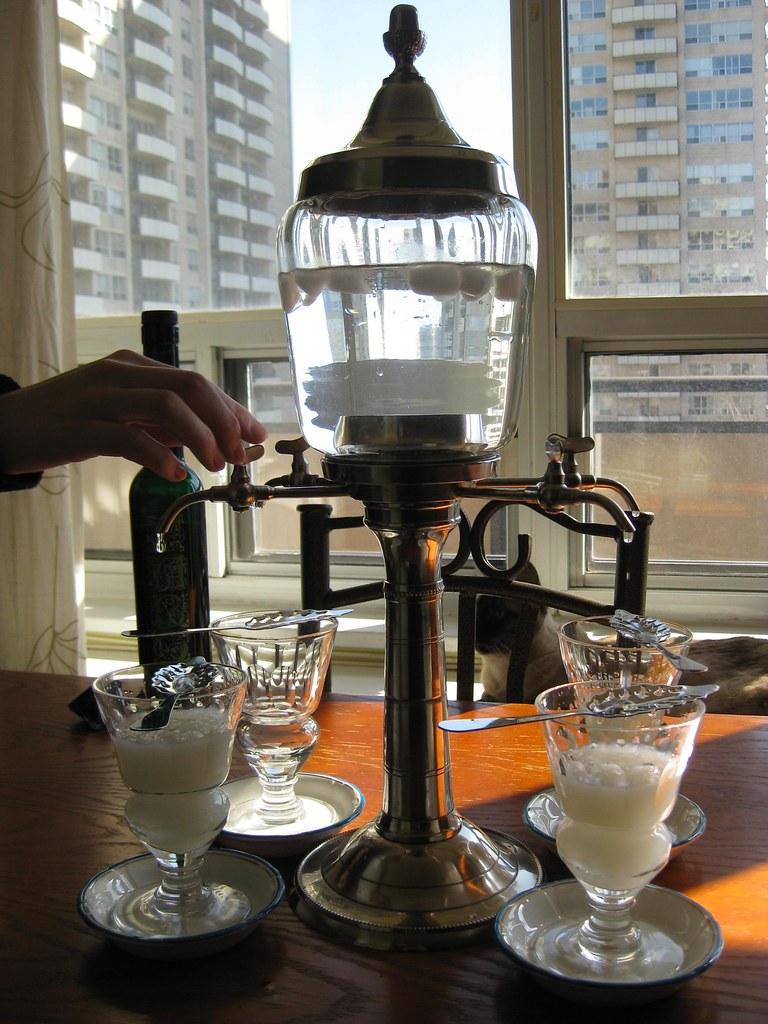 Taboo absinthe - louche