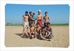 Young Guns of Punjab.The Kabbadi Team (Harnav Bir Singh) Tags: kids team young fields guns punjab pind kabbadi khet