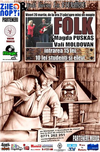 20 Martie 2009 » Magda PUSKAŞ şi Vali MOLDOVAN